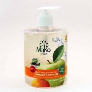 Средство для мытья овощей и фруктов Mako Clean фото
