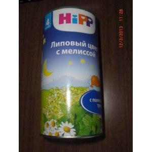 Чай HIPP Липовый цвет с мелиссой фото