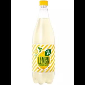 Напиток безалкогольный сильногазированный 7-UP искрящийся лимонад Lemon фото