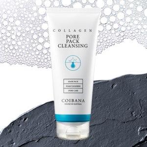 Пенка для умывания Coibana Collagen Pore Pack Cleansing фото
