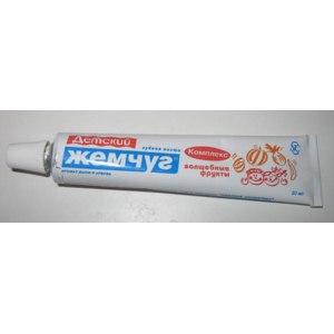 Зубная паста Невская Косметика Детский Жемчуг фото