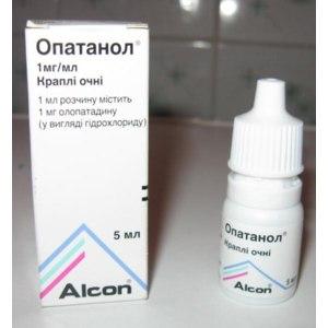 Капли для глаз Alcon Опатанол. фото