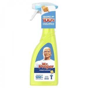 """Средство для уборки Mr.Proper Чистящий спрей """"Лимон""""  фото"""