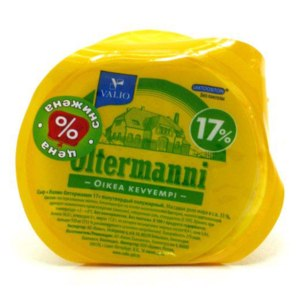 Сыр Valio Ольтермани 17% фото