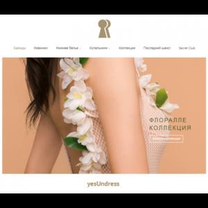 Сайт yesUndress.com - интернет-магазин нижнего белья и купальников фото