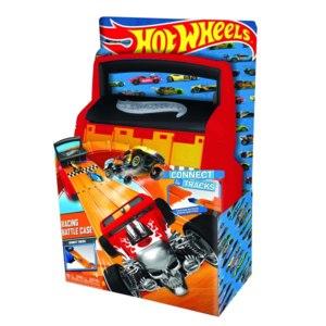 Hot Wheels Портативный кейс-автотрек для хранения гоночных машин фото