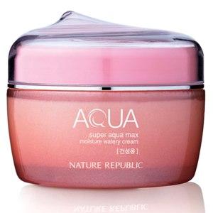 Крем для лица Nature Republic Super Aqua Max Moisture Watery Cream для сухой кожи фото