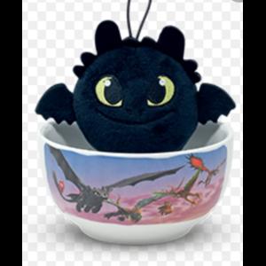 Детские игрушки Jakala Маленькие герои снова в деле Игрушка в пиале Toothless (Беззубик) артикул 3217267 фото