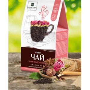 Черный чай Царство ароматов С розой и специями фото