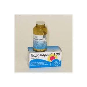 Средства д/лечения щитовидной железы BERLIN-CHEMIE Йодомарин фото