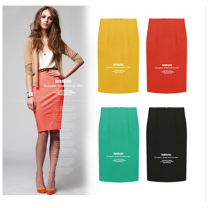 Юбка AliExpress 014 high quality fashion women summer skirt Slim thin package hip skirt large size free shipping фото