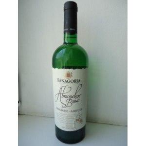 Вино Фанагория Авторское вино. Шардоне-Алиготе. Белое сухое. фото