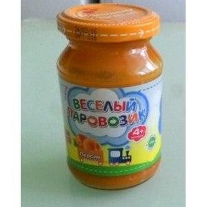 """Детское питание ООО """"Теледиск-Холдинг"""" Пюре """"Веселый паровозик"""" персик фото"""