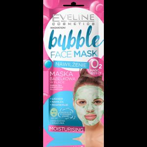 Тканевая маска для лица Eveline bubble face mask увлажняющая пузырьковая  фото