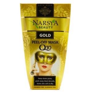 Маска-пленка для кожи лица Narsya Beauty Gold peel-off mask фото