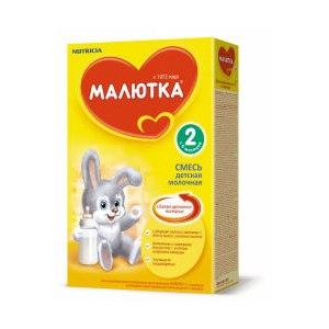 Детская молочная смесь Nutricia Малютка. Умное железо фото