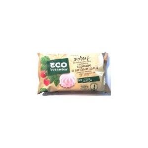 Зефир Eco botanica без добавления сахара с экстрактами каркаде и витаминами со вкусом малины фото