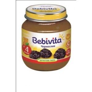 Детское питание Bebivita пюре чернослив фото