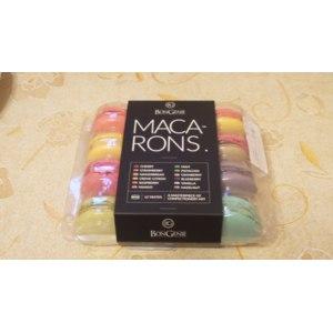 Макаруны BonGenie Ассорти пирожных с начинками фото