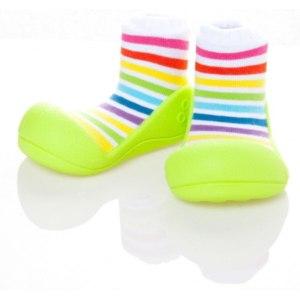 Текстильная обувь Attipas rainbow-green AR04 фото