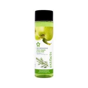 Шампунь для жирных волос Superdrug Refreshing Green Apple & Tea Tree фото