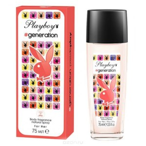 Playboy Generation for her Body fragrance natural spray фото