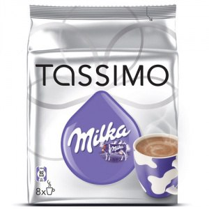 КАПСУЛЫ для кофе-машин с капсульной системой BOSCH Tassimo Milka горячий шоколад фото
