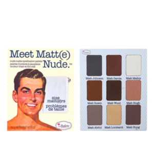 Палетка теней для век theBalm Meet Matt(e) Nude (оригинал) фото