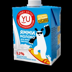 Молоко Yummy United Для завтрака  фото
