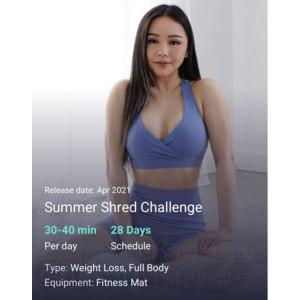 Тренировки Chloe Ting 2021 Summer Shred Challenge фото