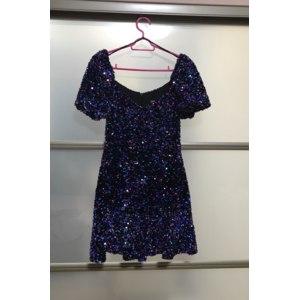 Платье ZARA с пайетками арт. RN77302 фото