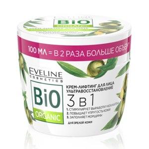 Крем-лифтинг для лица Eveline Ультравосстановление 3 в 1 Bio Organic фото
