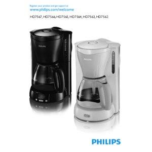 Кофеварка капельная Philips HD 7566 фото