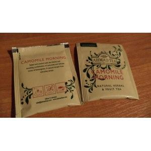 Чай в пакетиках AHMAD Camomile Morning фото