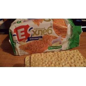 Хлебцы Елизавета Вафельный хлеб с чесноком фото