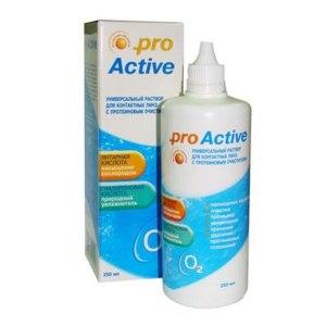 Раствор для контактных линз Optimed Pro Active фото