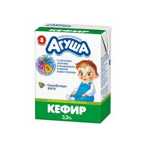 Детский кефир Агуша от 8 месяцев фото