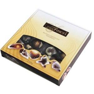 Конфеты Ameri©  Бельгия Шоколадные конфеты-ракушки с начинкой пралине фото