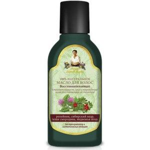 Масло для волос Рецепты бабушки Агафьи Восстанавливающее фото