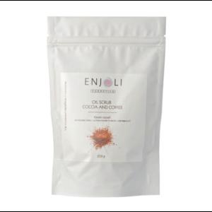 Скраб для тела ENJOLI на основе кофе с добавление 6 масел и витамина Е фото