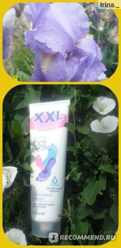 """Смягчающий крем для ступней Avon Foot works XXL """"Красивые ножки"""" фото"""