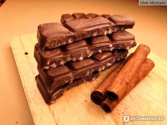 "Молочный шоколад Alpen Gold  Max Fun ""Морозный имбирь и ароматная корица"" фото"