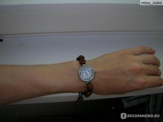 Часы - браслет Aliexpress Crystal shamballa watch bracelet фото