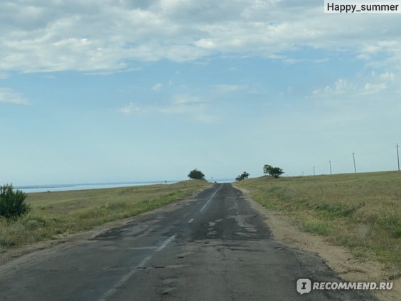 Крым, коса Беляус фото