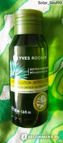 Мицеллярный шампунь-уход Ив Роше / Yves Rocher Очищение и Защита (Anti pollution) фото