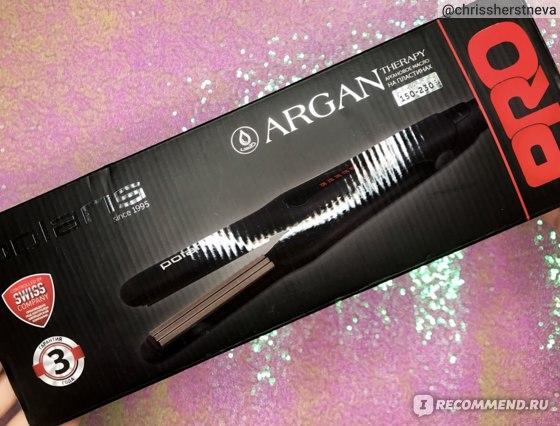 Щипцы для моделирования Polaris PHSZ 1309TAi Argan Therapy PRO - отзыв