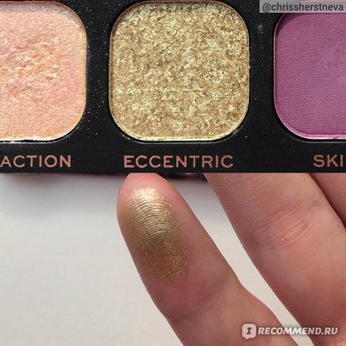 ECCENTRIC - яркий бледно-золотистый сатин, НЕ металлик