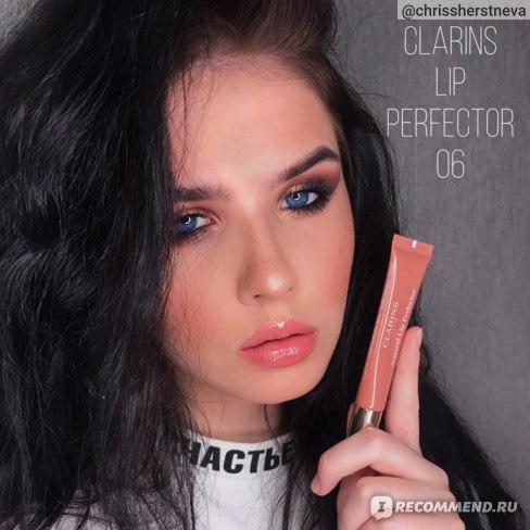 Блеск для губ Clarins Natural Lip Perfector 06 Rosewood Shimmer - отзыв