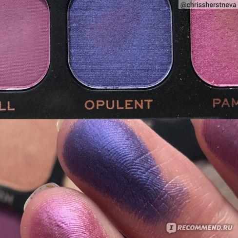 OPULENT - сине-фиолетовый сатин, самый темный в палетке