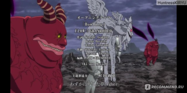 """OP3: Flow and GRANRODEO - """"Howling"""""""